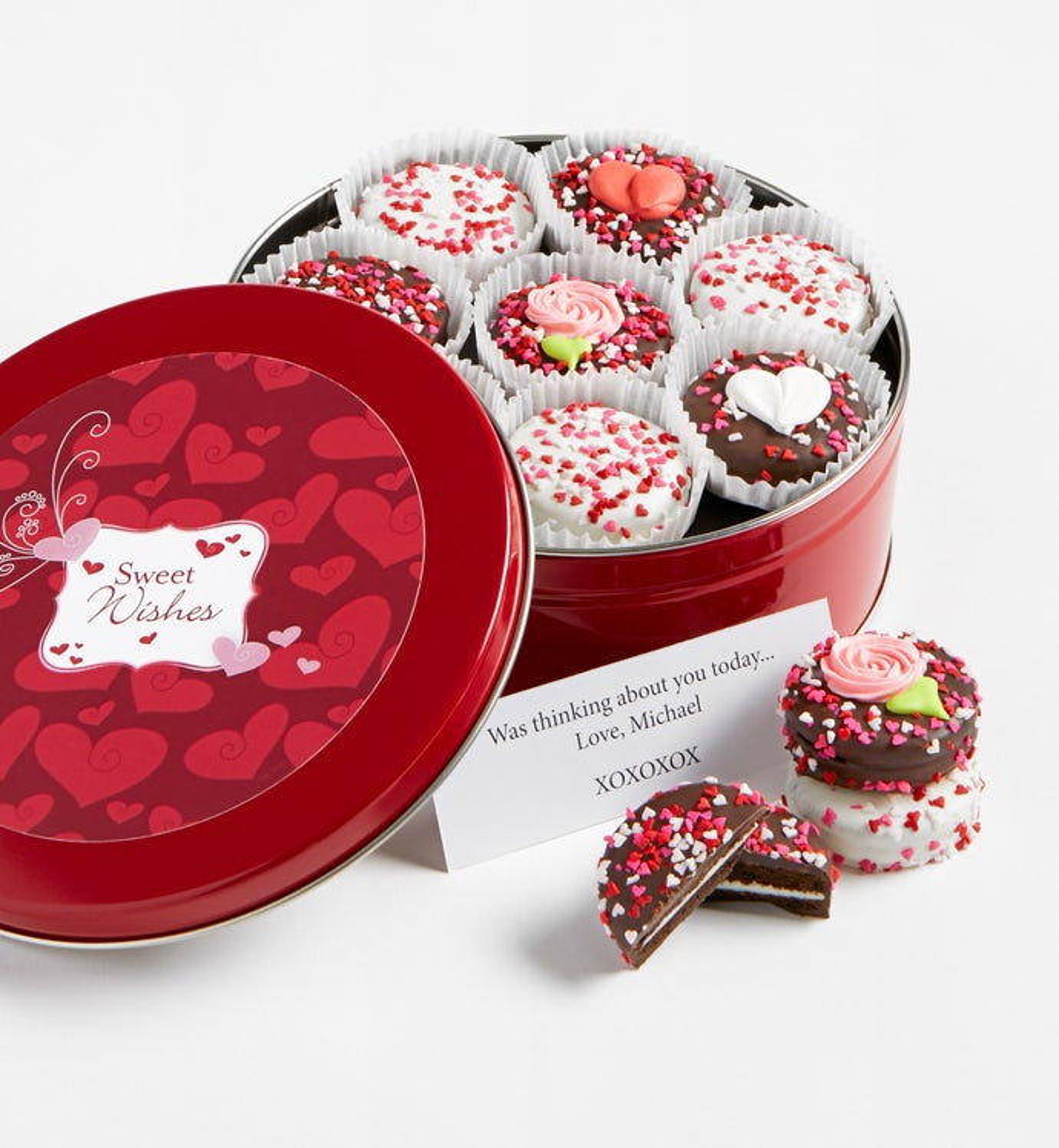 Sweetheart Belgian Chocolate Covered OREO Tin