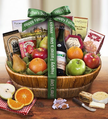 Father's Day Fruit Gift Basket