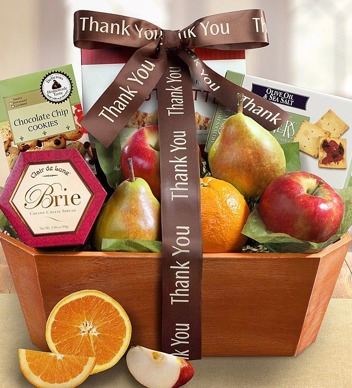 thank you gift basket 93683