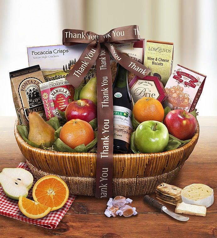 Thank You Tour DArles Fruit Gift Basket
