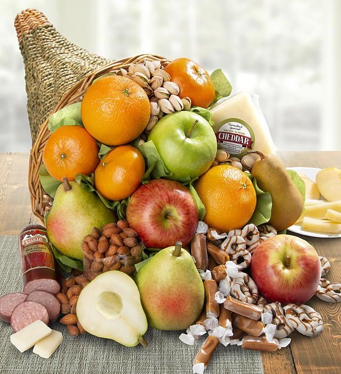 Cornucopia of Fruit Gift Basket