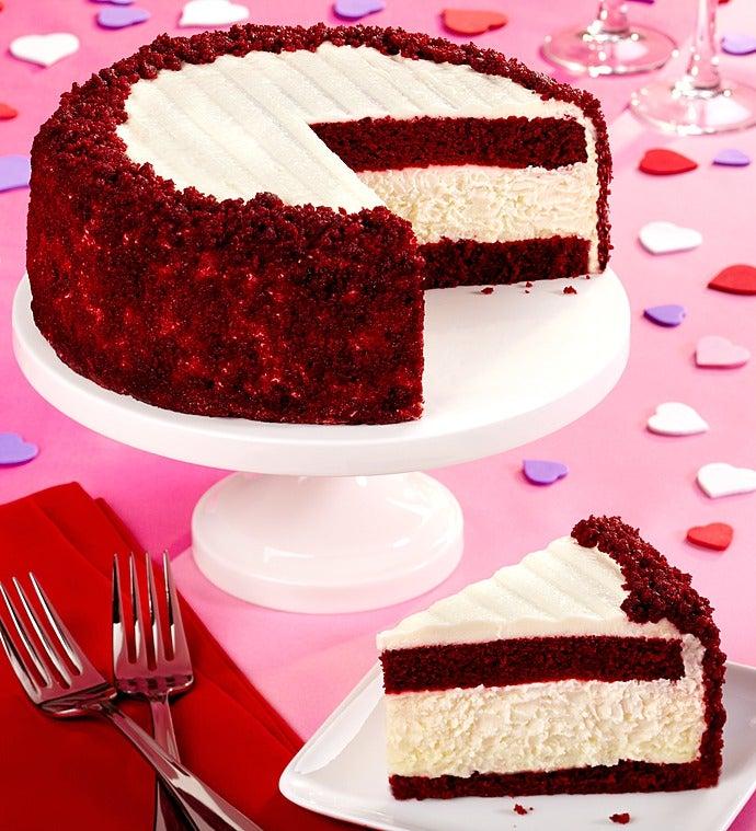 Red Velvet Cheesecake : Junior s Red Velvet Cheesecake