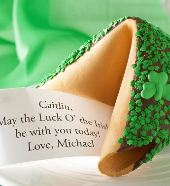 Happy St Pats Colossal Fortune Cookie