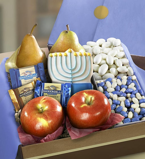 Hanukkah Fruit and Sweets Box