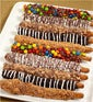 Candy Bar Pretzels