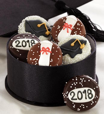 Congrats Graduate Chocolate Dipped Oreo® Cookies-Congrats Graduate Chocolate Dipped Oreo® Cookies