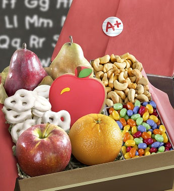 Back To School Fruit & Sweets Gift Box-Back To School Fruit & Sweets Gift Box
