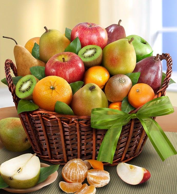 Premier Orchard Fruit Gift Basket - Premier Orchard Fruit Gift Basket