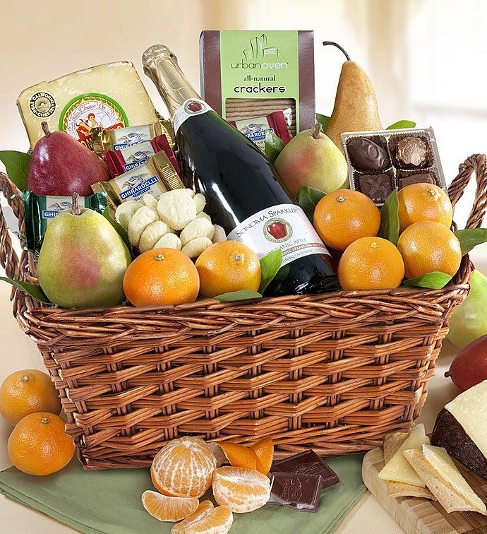 Select Sonoma Fruit  Gourmet Gift Basket