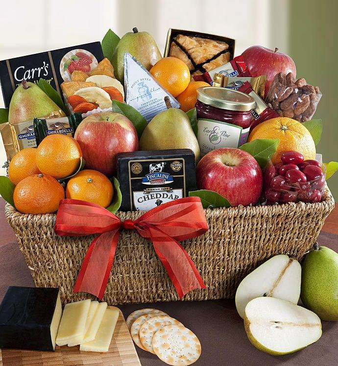 Sutter Creek Fruit  Gourmet Sweets Gift Basket