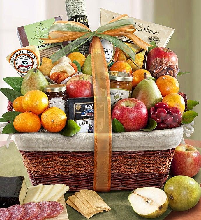 & Sierra Sensation Fruit u0026 Gourmet Gift Basket