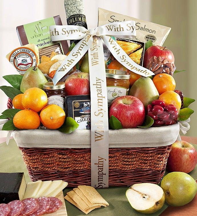 Sympathy Gift Basket Remembering Your Loved One - Remembering Your Loved One Sympathy Gift Basket