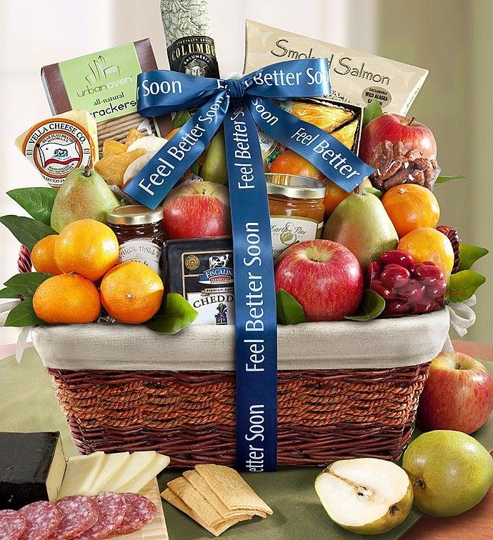 Under The Weather Get Well Gift Basket - Under The Weather Get Well Gift Basket