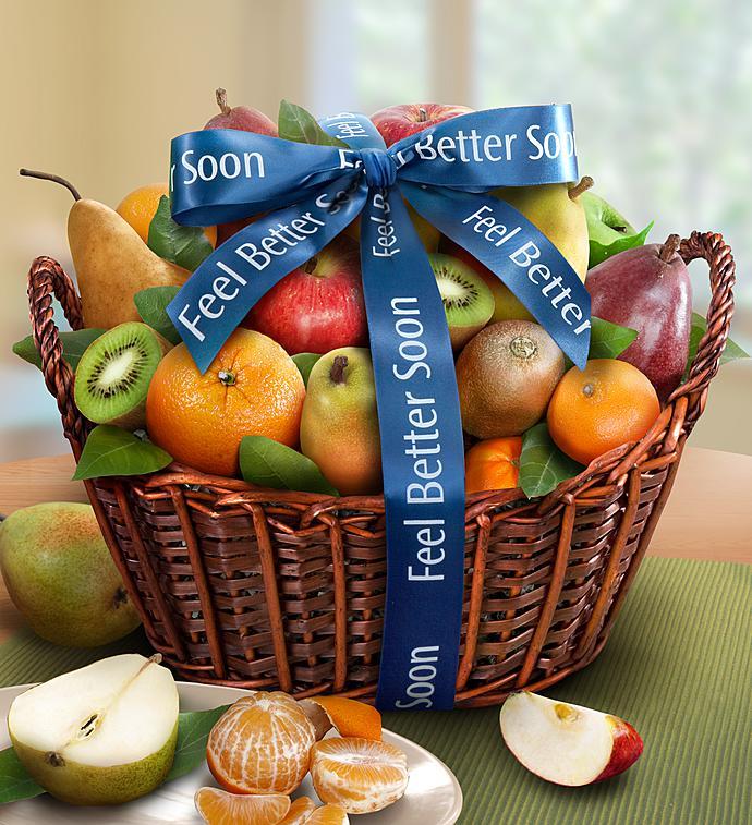 Premier Fruit Get Well Gift Basket