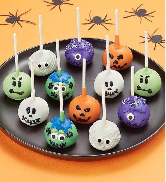 12 Pack Decadent Halloween Truffle Cake Pops