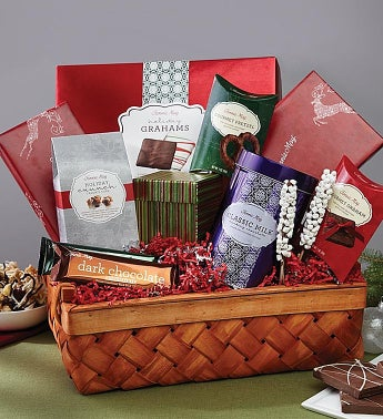 Fannie May® Holiday Pleasures Gift Basket