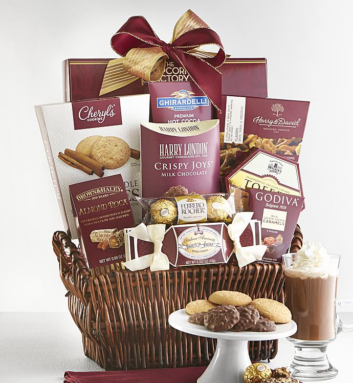 Gourmet gift basket 1800baskets deluxe balsam gift basket negle Choice Image