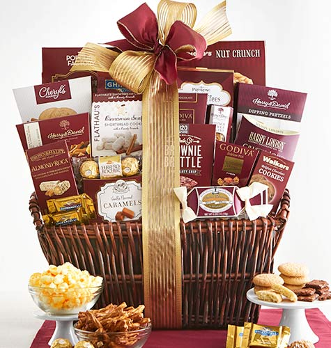 Gift baskets and gourmet food 1800baskets gift basket 4999 9999 negle Images