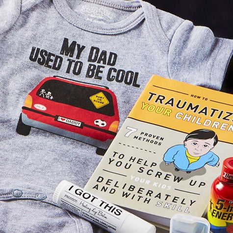 New Dad's Essentials Gift