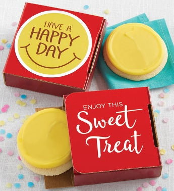 Have a Happy Day Cookie Cards  Cases or 24 or 48