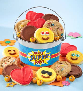 Have a Super Day Cookie Pail