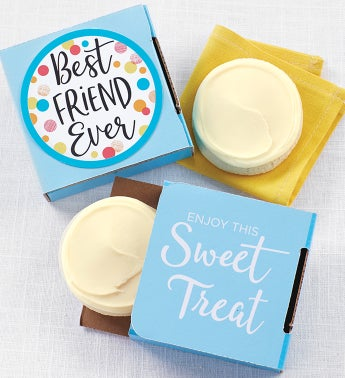 Best Friend Ever Cookie Card