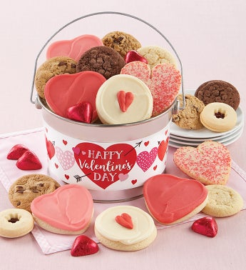 Happy Valentines Day Treats Gift Pail