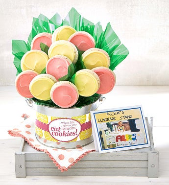 Alexs Lemonade Stand Cookie Flower Pot