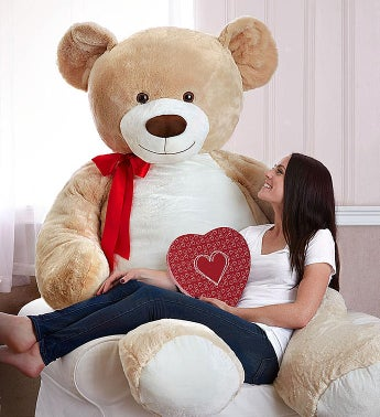 Lotsa Love Beary Big Bear With Truffles