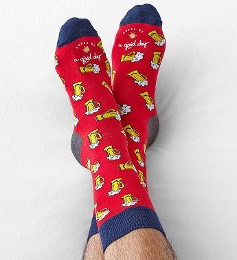 Good Day Beer Socks for Men