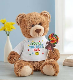 "Personalized Tommy Teddy ""Sending Smiles"""