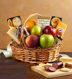 Fruit  Gourmet Basket For Sympathy