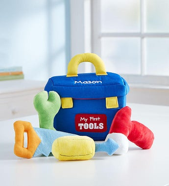 Personalized Gund Toolbox Playset