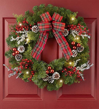 Christmas Traditions Wreath- 24