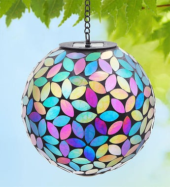 Solar Mosaic Gazing Ball
