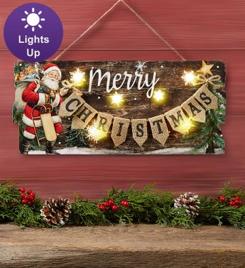 Merry Christmas LED Wall Dcor