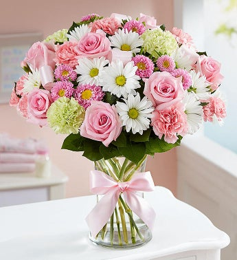 Sweet Baby Girl Arrangement