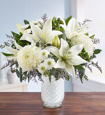 Pure Elegance Bouquet for Sympathy