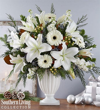 Wonderful Winter Pedestal by Southern Living