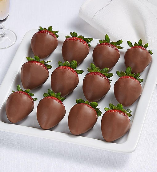 Decadent Dipped Strawberries All Milk