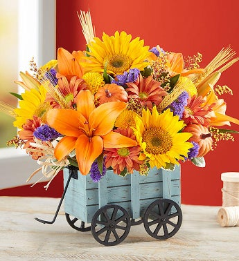 Harvest Hayride Flower Arrangement
