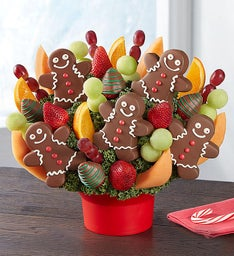 Jolly Gingerbread Bouquet