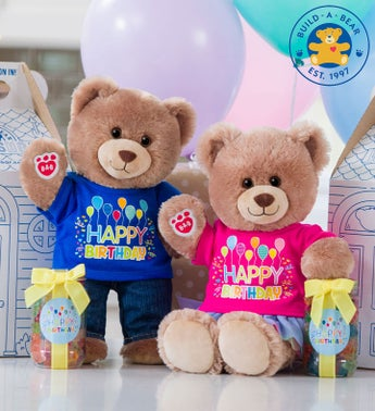 Build-A-Bear Loveable Birthday Cub - Boy or Girl