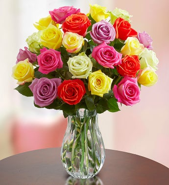 Assorted Roses 12-24 Stems