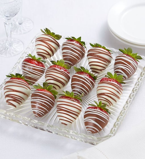 Chocolate-Covered Strawberries – 12 Count