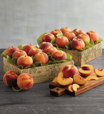 Two Boxes of Oregold174 Peaches
