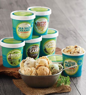 Ice Cream Sampler - 6 Pints