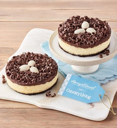 Country Living Bird's Nest Cheesecake Duo