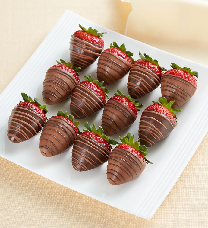 Sugar-Free Chocolate-Dipped Strawberries 8211 12 Count