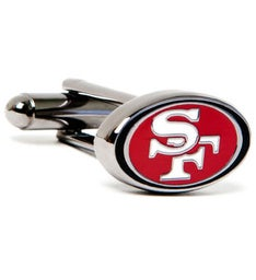 San Francisco 49ers Cufflinks
